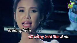 anh duong se xoa tan (karaoke) - khoi my
