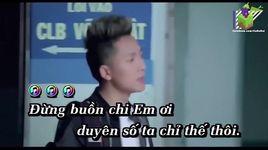 anh xin loi em (remix) (karaoke) - chau khai phong