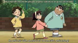 conan magic file 2: kudou shinichi - vu an buc tuong bi an va chu cho den - detective conan