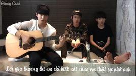 hao xiang ni (joyce chu cover) (vietsub, kara) - tfboys