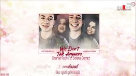 we don't talk anymore (vietsub, kara) - charlie puth, selena gomez