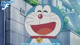 doraemon tap 408: cat mot mieng dai duong; bao tay tiep xuc; ba ngay doi bung cua nobita - doraemon