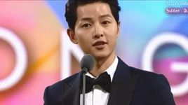 soai ca hau due mat troi song joong ki lich lam tai style icon awards 2016 - song joong ki