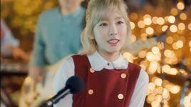 the blue night of jeju island - tae yeon (snsd), kyu hyun (super junior)