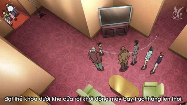 Detective Conan The Fugitive Kogorou Mouri - Image 1