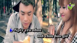 anh buong tay roi do em di di (karaoke) - luong gia hung