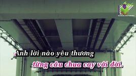con mai yeu em (karaoke) - my dung