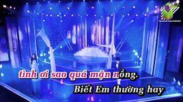 con tim dai kho (karaoke) - bao anh, bui anh tuan