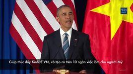 bai phat bieu an tuong cua tong thong obama trong chuyen tham viet nam - v.a