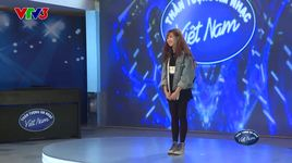 vietnam idol 2016 - tap 1: fly me to the moon - ha my - v.a