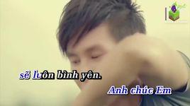 em hanh phuc la anh an long (karaoke) - ly hai