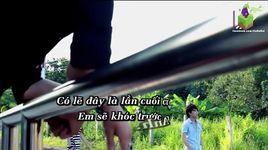 em khong lam duoc (karaoke) - song thu
