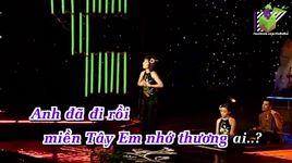 em ve mien tay (karaoke) - phi nhung