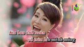 lk khai xuan don loc (karaoke) - uyen linh, dong nhi, trong hieu idol