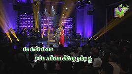 mai lo hai minh xa nhau (karaoke) - bang tam, dan nguyen