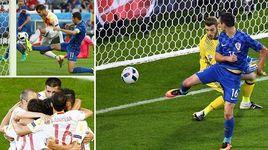 croatia 2-1 tay ban nha (bang d euro 2016) - v.a