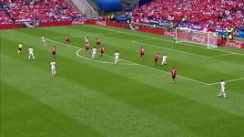 thuy si 1-0 albania - highlight (bang a euro 2016) - v.a