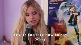 sorry (justin bieber cover) - chloe adams