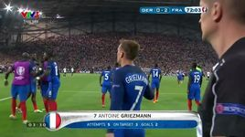 duc 0-2 phap: griezmann ghi cu dup (vong ban ket euro 2016) - v.a