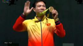 olympic rio 2016: le trao hcv cho hoang xuan vinh - v.a
