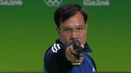 olympic rio 2016: hoang xuan vinh - hcv lich su - khoanh khac tuyet voi nhat - v.a