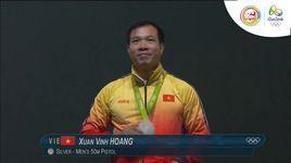hoang xuan vinh - hcb ban sung ngan nam 50m (chung ket olympic rio 2016) - v.a