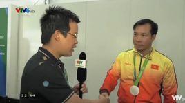 phong van hoang xuan vinh sau khi gianh hcb 50m sung ngan (olympic rio 2016) - v.a