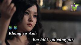khong co anh (karaoke) - mong thi