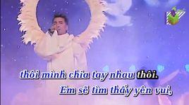 khoang cach remix (karaoke) - dam vinh hung