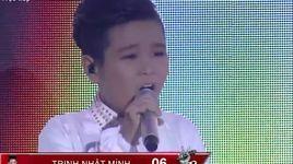 giong hat viet nhi 2016 - liveshow 6: arirang alone - trinh nhat minh - v.a