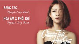 chuyen tinh hom qua (lyric video) - ha nhi