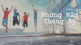 nhung nam thang ay (karaoke) - avatar boys