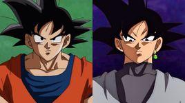 rap ve black goku (dragon ball super) - phan ann