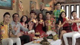 tet hanh phuc sum vay - v.music new, mat ngoc, may trang, viet my, bao kun, thien trang, cadimen