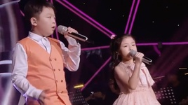 you raise me up (let's sing kids china 2015) (vietsub) - jeffrey li (ly thanh vu), celine tam (dam chi van)