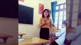 co giao lop em cover duyen phan cuc hay - v.a