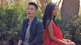 say you won't let go & someone like you (mashup cover) - sam tsui, vidya vox