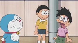 doraemon tap 485: de can day long & ca khuc tam huyet cua jaian - doraemon