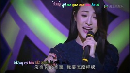 rat muon ghet anh / 很想讨厌你 (live + vietsub) - rosina lam (lam ha vy)