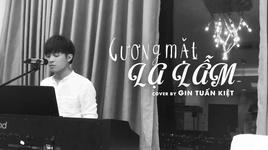 guong mat la lam (piano cover) - gin tuan kiet