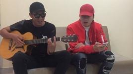 doi qua cu ra toa (acoustic guitar live) - karik