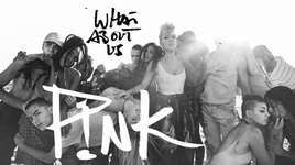 what about us (lyric video) - p!nk