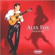 guitar on fire - alex fox