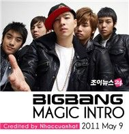 magic intro album - bigbang