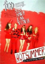 hot summer (repackage album 2011) - f(x)