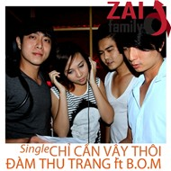 chi can vay thoi (single 2011) - dam thu trang, b.o.m