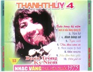 buon trong ky niem (pre 1975) - thanh thuy