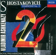 shostakovich: symphony no.2/festival overture/song of the forests, etc. - v.a