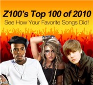 top 100 songs of 2010 (z100) - v.a