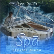 spa crystal piano - ken davis